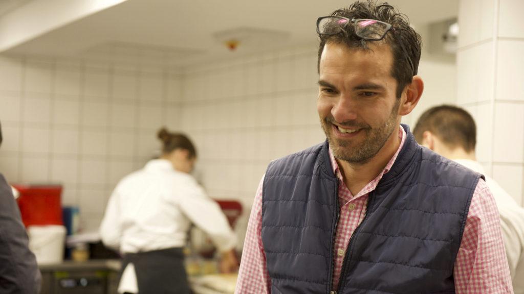 Laurent Peugeot en Cuisine à la Table des Armaillis
