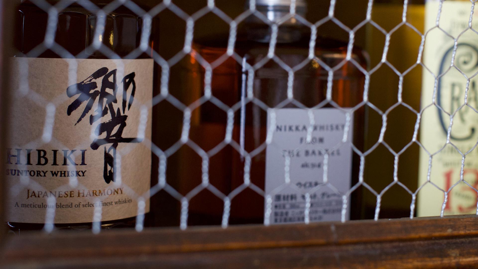 Whiskys et Sakés japonais